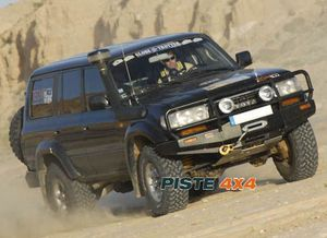 TOYOTA VDJ 200 PARE-CHOCS 4X4 WINCH BARS ARB