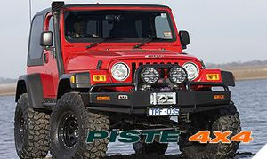 JEEP WRANGLER TJ PARE-CHOCS 4X4 WINCH BARS ARB