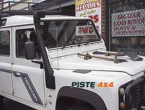 Snorkel Airflow 4x4 LAND ROVER RR Classic V8