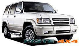 ISUZU TROOPER >92 PARE-CHOCS ARB 4X4 SAHARA BARS