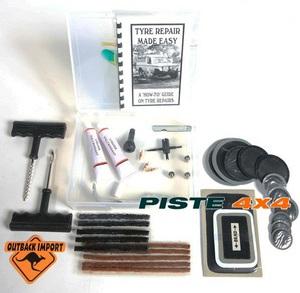 KIT REPARATION TUBELESS POUR PNEU - kit de réparation pneus