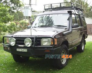 Snorkel Airflow 4x4 LAND ROVER DISCOVERY 200TDI