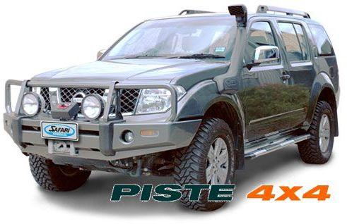 Nissan Navara D40 Pathfinder R51 Pare Chocs 4x4 Winch Bars