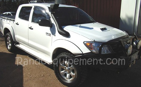 snorkel airflow 4x4 toyota hilux vigo accessoires. Black Bedroom Furniture Sets. Home Design Ideas