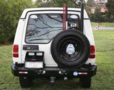 LAND ROVER DISCO I PORTE-JERRYCAN SIMPLE GAUCHE renforcé
