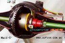 DISCOVERY TD5/V8/ LONG. 848 MM - ARBRES DE ROUE AVANT