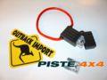 PORTE FUSIBLES + 2 FUSIBLES 80 AMPS