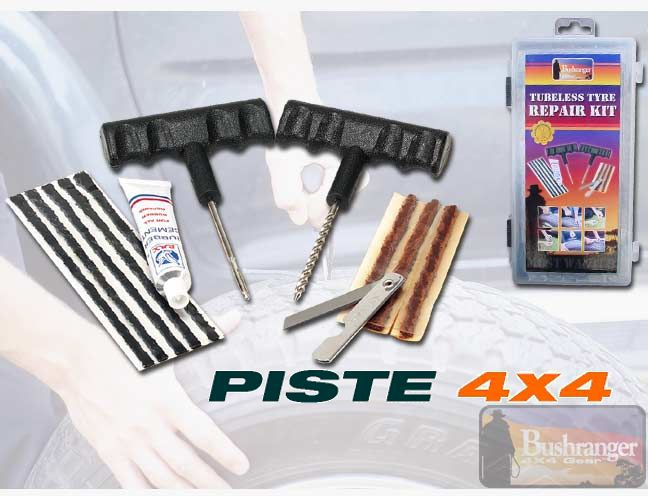 kit reparation tubeless pour pneu bushranger pi ces 4x4. Black Bedroom Furniture Sets. Home Design Ideas
