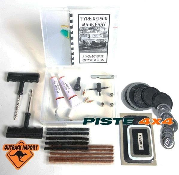 kit reparation tubeless pour pneu kit de r paration pneus pi ces 4x4. Black Bedroom Furniture Sets. Home Design Ideas