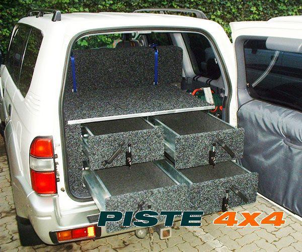 amenagements interieurs 4x4 tiroirs de rangement pour 4x4 pi ces 4x4. Black Bedroom Furniture Sets. Home Design Ideas